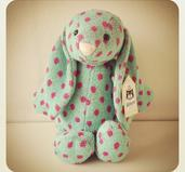 Liten randig prickig från Jellycat London