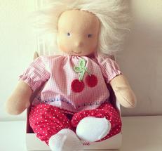 Mia organic - en handgjord babydocka från Käthe Kruse