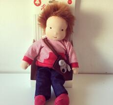 Benni - en korthårig handgjord påklädningsdocka från Käthe Kruse